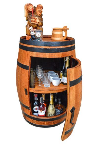 Barki na alkohol - szafki - półki